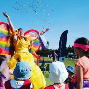 Fairy Skye Rainbow confetti