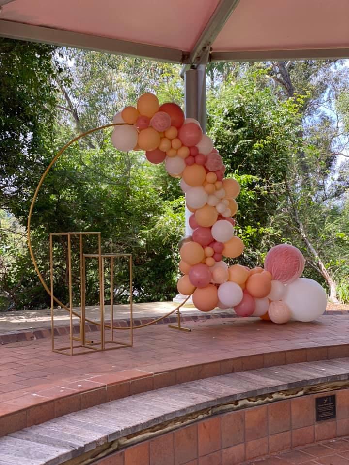 G&M Events balloon display
