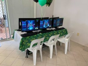 Gamer Parties game zone
