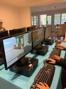 Gamer Parties indoor gaming