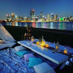 Glamping Sensations city views