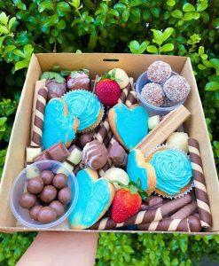 Glorious Graze heart cookies