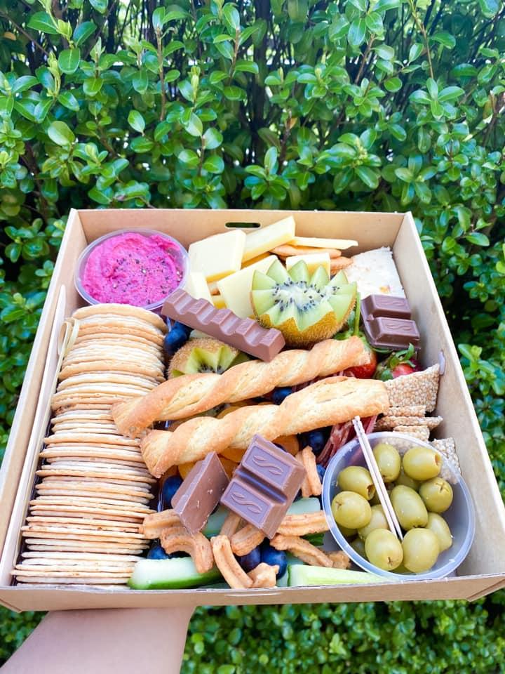 Glorious Graze savoury treats