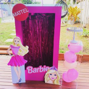 Happily Ever Laughter Party Hire Barbie box