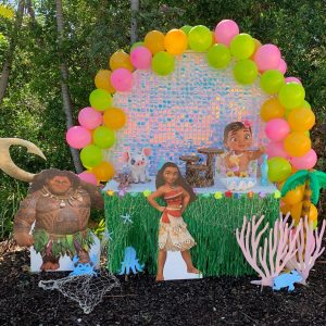 Happily Ever Laughter Party Hire Moana theme