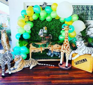 Happily Ever Laughter Party Hire safari theme