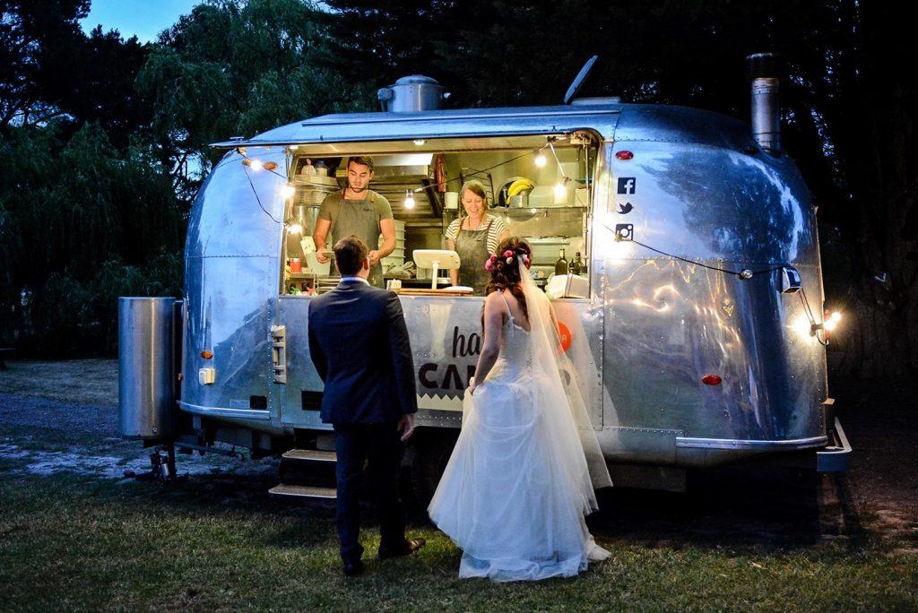 Happy Camper Pizza wedding service