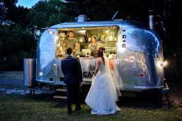 Happy Camper Pizza wedding service