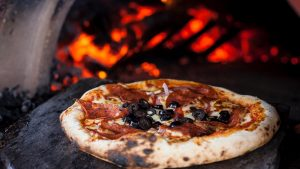 Happy Camper Pizza wood fire pizza