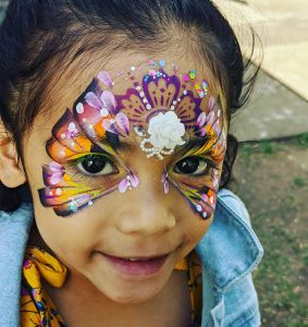 HappyStar Face Painting butterfly
