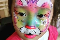 HappyStar Face Painting cat