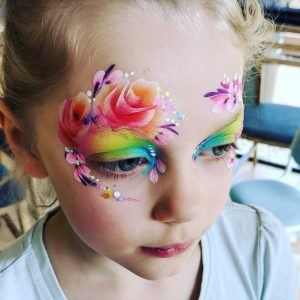 HappyStar Face Painting flowers