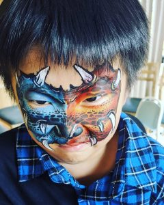 HappyStar Face Painting monster