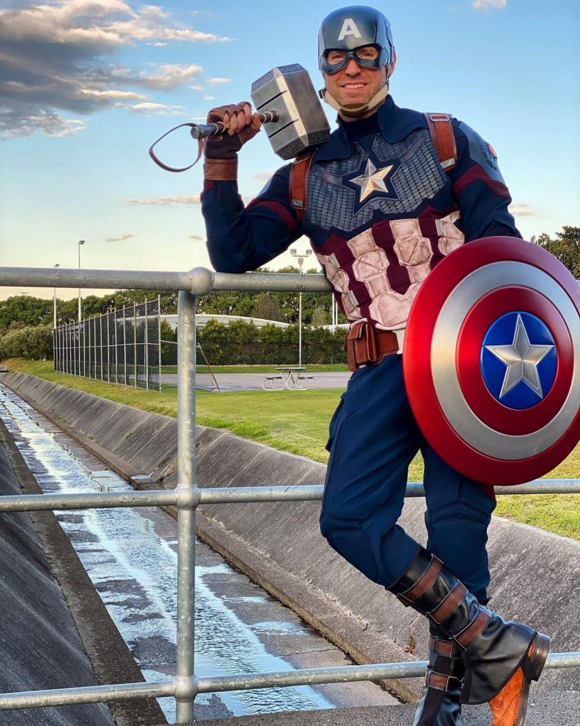Home2Heroes Captain America