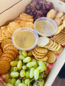 Honeysuckles English Picnic Parlour cheese plate
