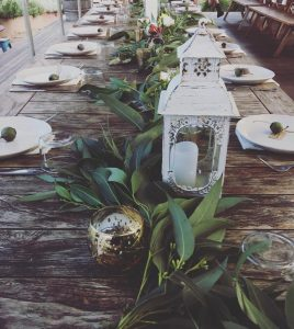 Hunt And Heart Events table setting