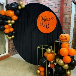 I Style Events halloween wall