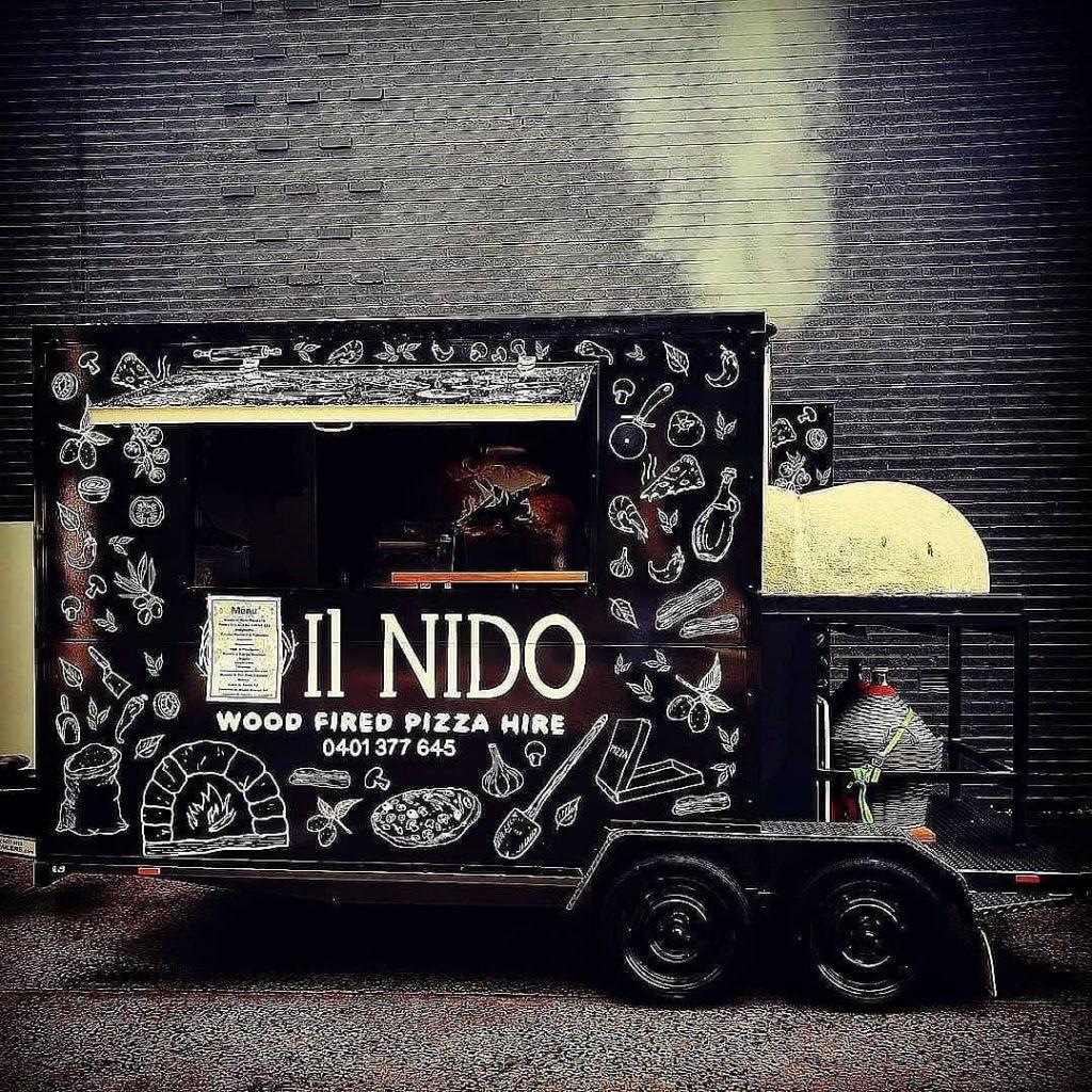 il Nido Trattoria Pizza cooking truck