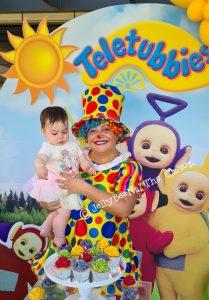 JellyBeeNa The Clown Tellytubbies
