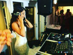 JJK Entertainment bride on the decks