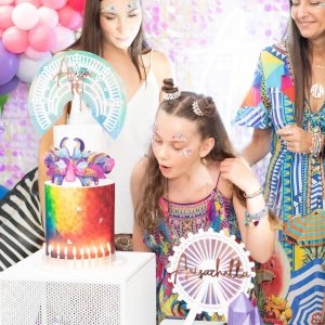 Jo Kalivas Events & Styling colour 10th birthday