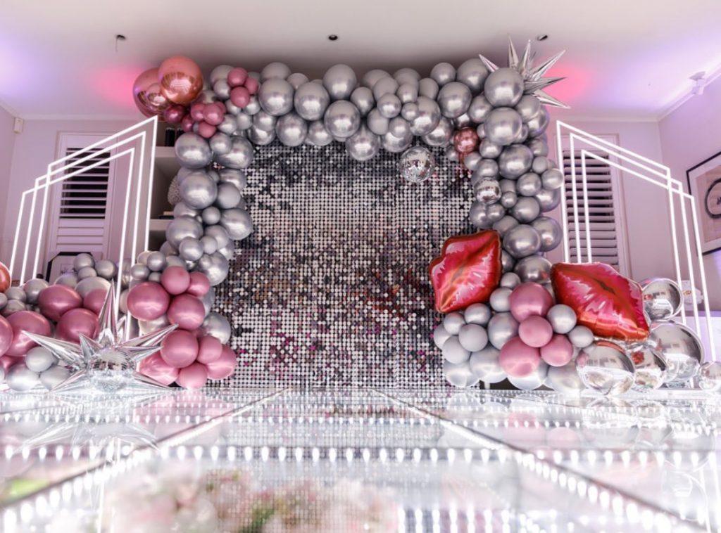 Jo Kalivas Events & Styling disco balloons