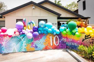 Jo Kalivas Events & Styling festival balloons