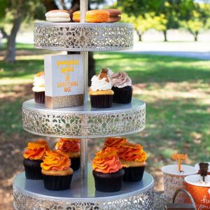 Just For A Queen dessert stands
