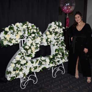 Just For A Queen floral 21 numbers