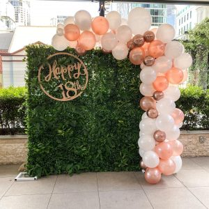 Just Peachy Event Hire 18th