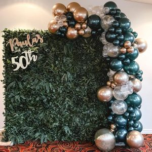 Just Peachy Event Hire 50th