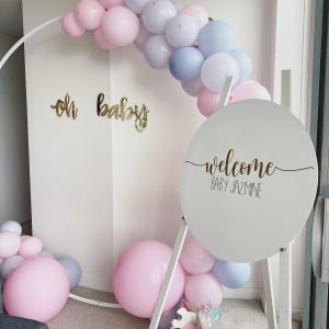 Just Peachy Event Hire baby shower