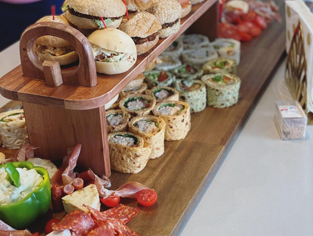 Just Peachy Event Hire grazing table