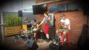 Kimba Ward band