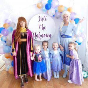 Little Believers Frozen entertainers
