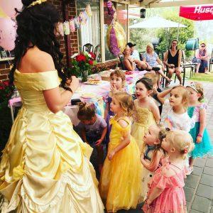 Little Believers princess entertainer
