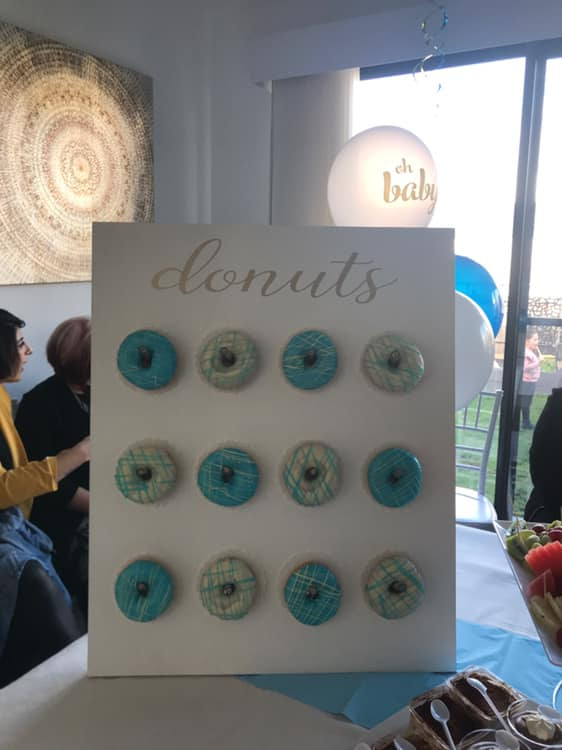 Melbourne Flower Wall Hire donut wall