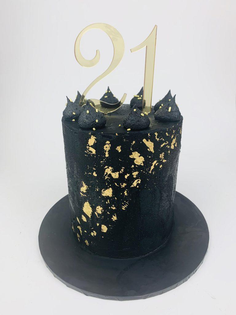 Meli-Ann Designs 21st cake