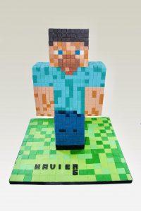 Meli-Ann Designs minecraft cake