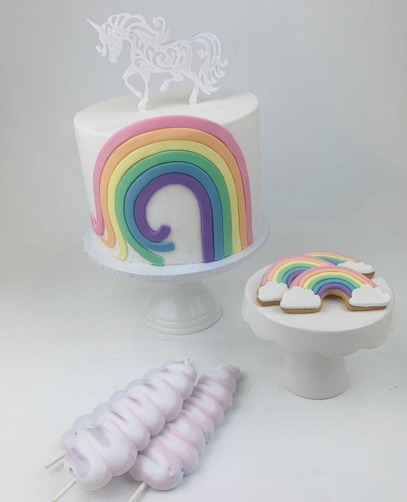 Meli-Ann Designs unicorn cake