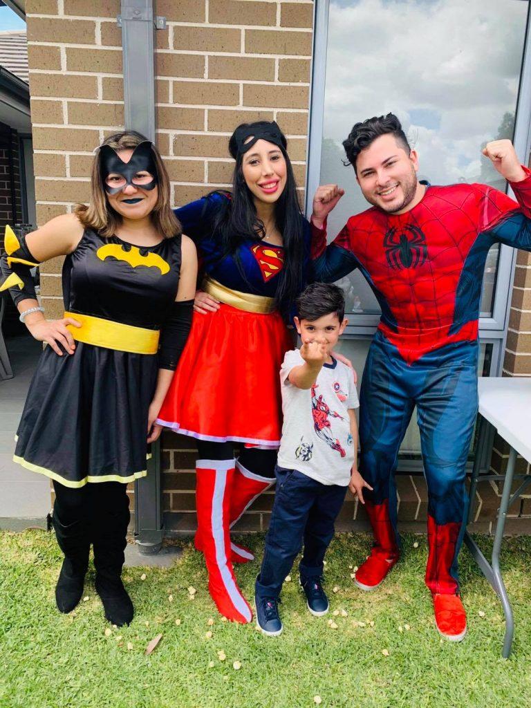 Meli Coco's Kids Parties superheros