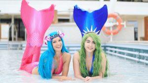 Mermaid Madeleine friends