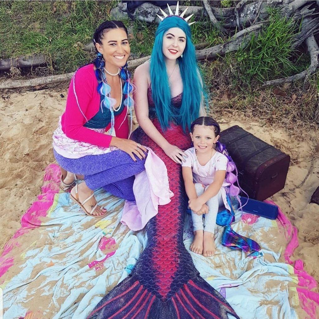 Mermaid Madeleine under the sea party