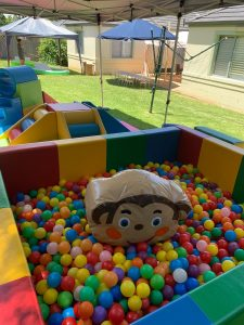 Monkey Play Mobile Play Centre ball pit
