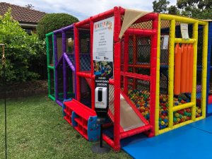 Monkey Play Mobile Play Centre ready to go