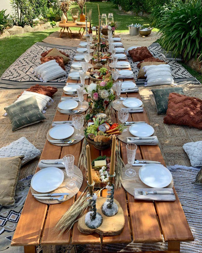 Mrs Decor Lover picnic setup