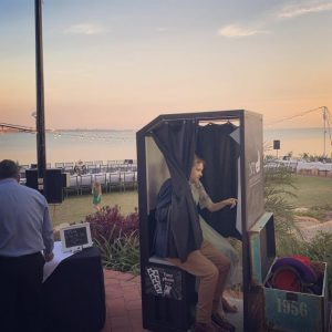 NT Photobooths outdoors