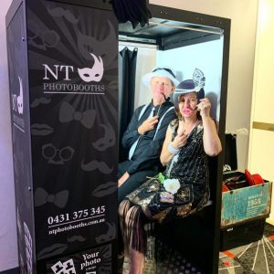 NT Photobooths party props