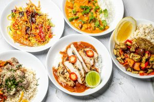 One Pot Catering dinner plates