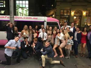 Party Shuttle corporate party